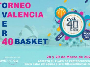 28 y 29 de marzo de 2020 – Over40Basket Valencia'20  LISTA ESPERA