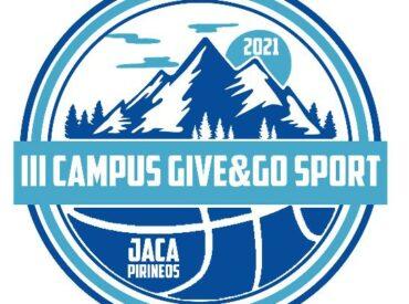 III CAMPUS GIVE AND GO JACA 2021 – 2 TURNOS: Del 2 al 9  y del 9 al 16 de julio